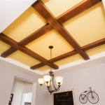 3d-Dining-Room-Tray-ceiling-with-cross-beams-1